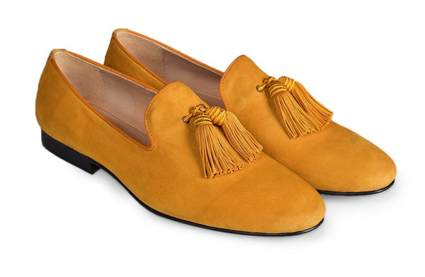 Yellow Royce Tassel Loafer