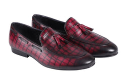 Camelot Croco Galet Loafer