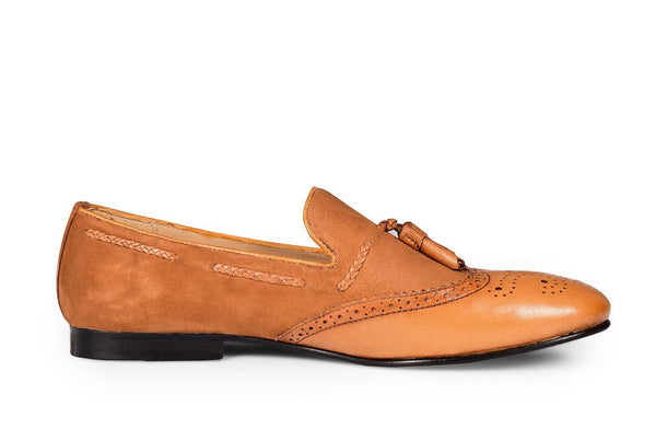 ECRU SMITH TASSEL LOAFER