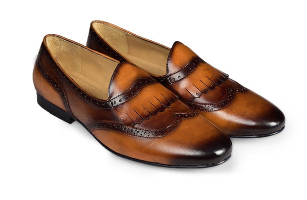 Ecrubac Fringed Loafer