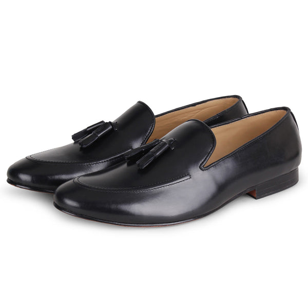 Midnight Nappa Loafer
