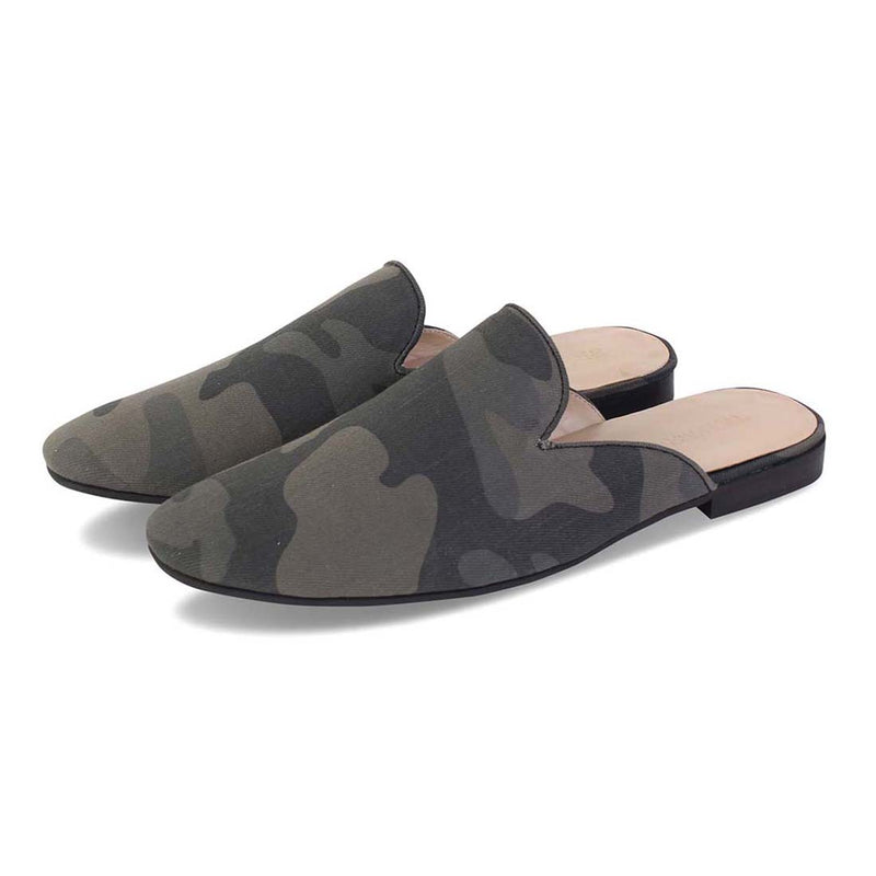 OLIVE CAMO MULES