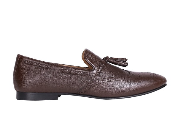 Tobacco Classic Smith Tassel Loafer