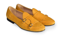 Yellow Suede Classic Double Monk