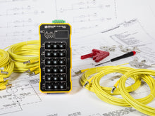 Non-conductive, 18 pt temperature monitoring and alarming devices that identifies potential hot spots and enables users to predict failures in electrical connections.