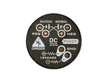 DC Voltage Indicator with Flashing LEDs to indicate presence of voltage on DC power systems.