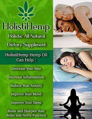 Hemp Oil Extract Full Spectrum 1000mg 30mL - Pain Relief - Anti Anxiety  Social Anxiety- Depression Stress Support - Anti-Inflammatory - Brain  Health