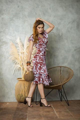 Vestido Flores LYQ1016 | Long Dress LYQ1016