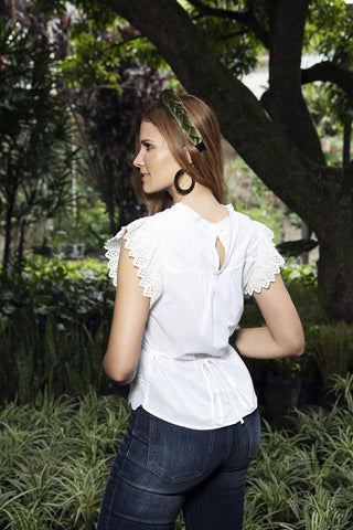 Blusa Ojalillo 55426T | Eyelet Design Top 55426T