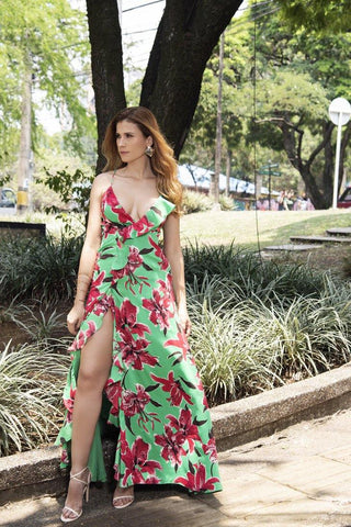 Vestido Bolero LD6495 | Long Dress LD6495