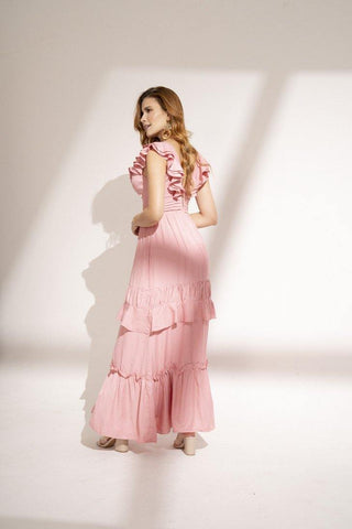 Vestido Largo DD25691 |  Long Dress DD25691