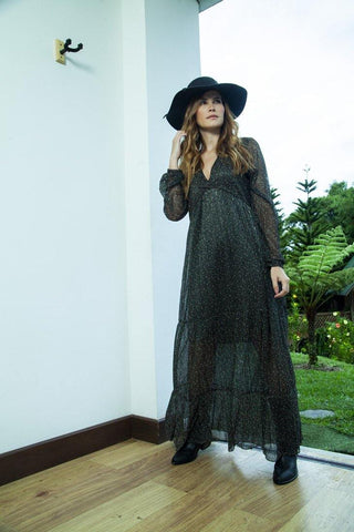 Vestido Largo CR MIAMI |  Long Dress CR MIAMI