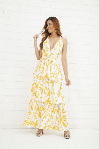 Vestido Largo DD16628 | Long Dress DD16628