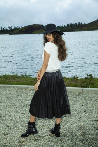 Falda Plisada 3173  |  Pleated Skirt 3173