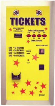 AC105 Rear-Loading Ticket Dispenser