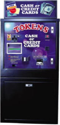 AC 6007 Bill or Credit Card to Token Dispenser