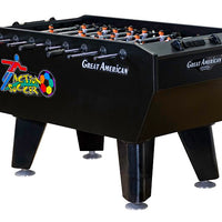Action Soccer Coin Operated Foosball Table