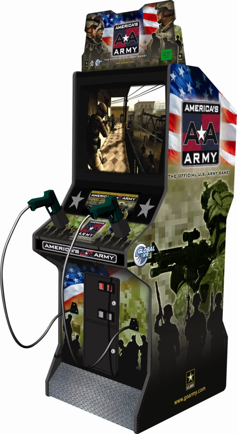 America's Army Arcade Shooting Game