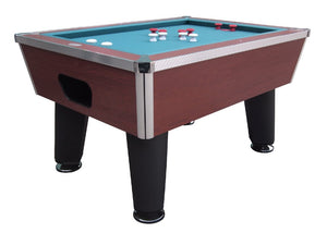 Brickell Pro Slate Bumper Pool Table in Cherry
