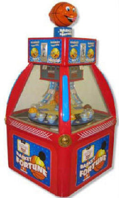 Basket Fortune Coin Pusher Game