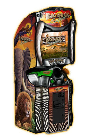 Big Buck Hunter Safari Arcade Shooting Game