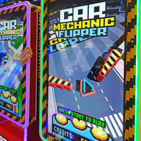 Car Mechanic Flipper Ticket Arcade Game