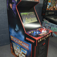 WWF Wrestle Mania Arcade Video Game