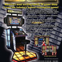 Deal or No Deal Deluxe Ticket Arcade Game