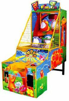 Feeding Time Ball Ticket Arcade Game
