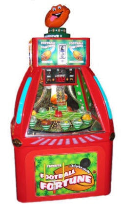 Football Fortune Coin Pusher Game