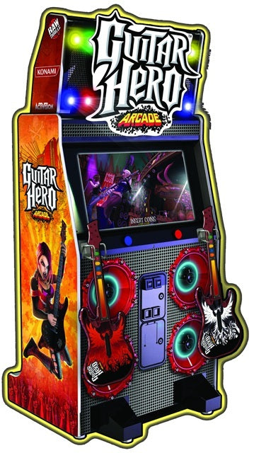Guitar Hero Arcade Video Game