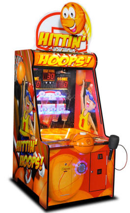 Hittin' Hoops Ticket Arcade Game