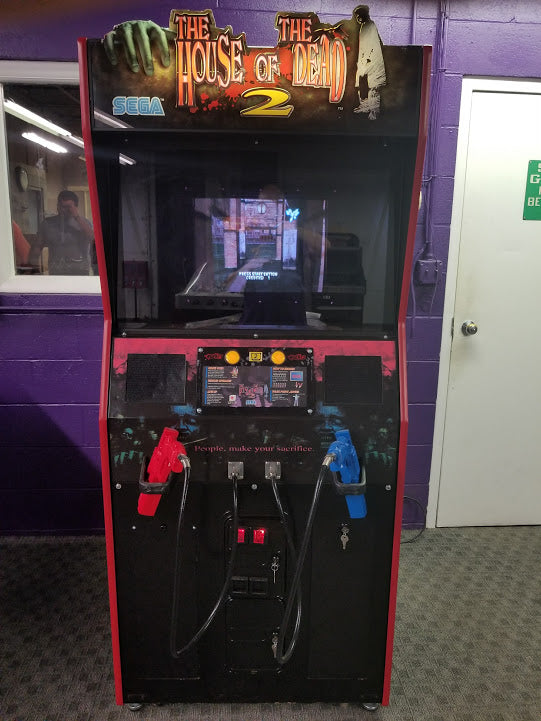 House Of The Dead 2 Arcade Shooting Game M P Amusement