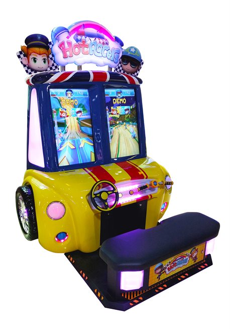 Hot Racers Arcade Driving Game