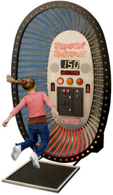 Jumping Jackpot Ticket Arcade Game