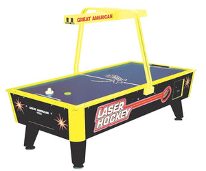 Laser Hockey Coin Operated Air Hockey Table