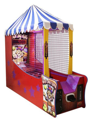 Milk Jug Toss Ticket Arcade Game