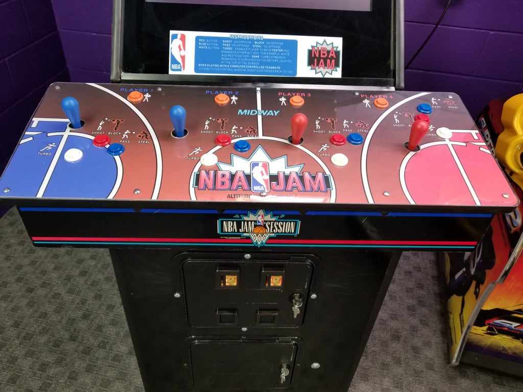 Buy Nba Jam Arcade Machine