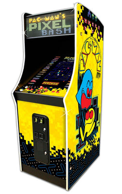 Pac-Man's Pixel Bash Coin Operated Arcade Game (With 31 Games)