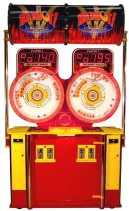 Red Hot 2 Player Ticket Arcade Game