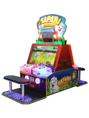 Safari Ranger DLX Video Ticket Arcade Game