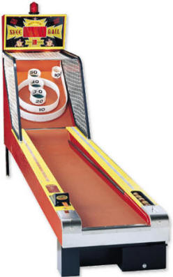 Skee Ball Classic 10' Alley Roller Arcade Game