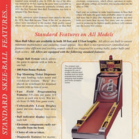 Skee Ball Classic 13' Alley Roller Arcade Game