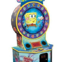 Spongebob Squarepants Jellyfishing Arcade Ticket Game