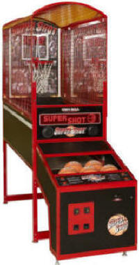 Super Shot Basketball Arcade Game