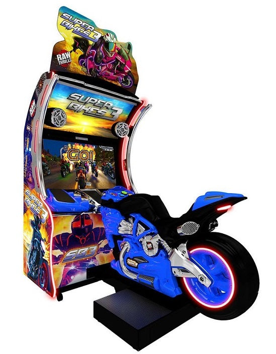 Super Bikes 3 Arcade Motorcycle Video Game