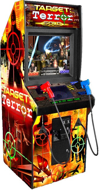 Target Terror Gold Arcade Shooting Game