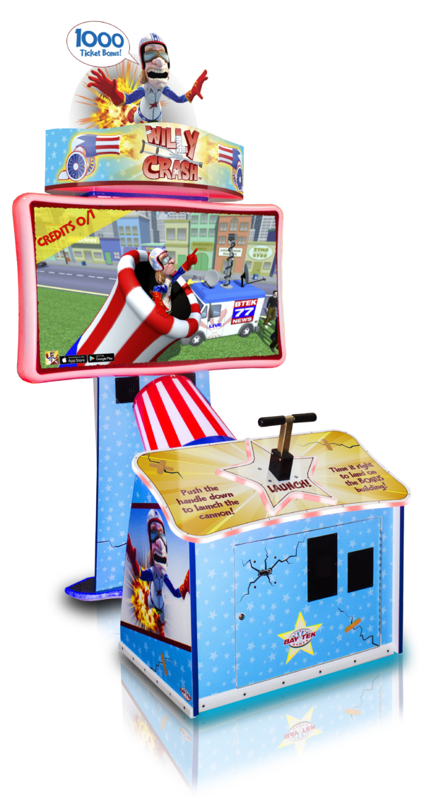 Willy Crash Arcade Ticket Game