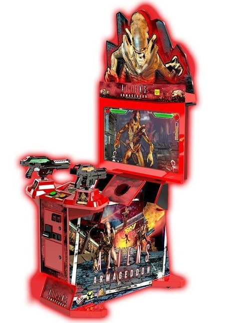 "Aliens Armageddon 42"" Arcade Shooting Game"