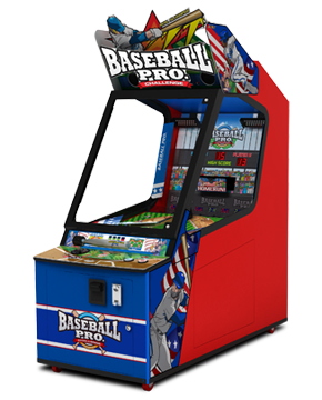 Baseball Pro Challenge Ticket Arcade Game